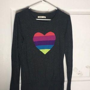 Love is love heart sweater